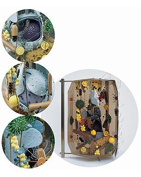 Gläserne Zelle, 40.000-fache Größe, 3B Scientific, medishop.de