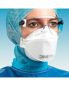 Atemschutzmasken FFP3, ohne Ventil, 20 Stück, 3M Medica, medishop.de