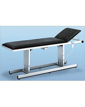 AGA-DUO-LIFT, EKG-Liege, Rahmen Edelstahl, Gestellf. lichtgrau, max.H  85cm, Bezug birke, AGA Sanitätsartikel, medishop.de