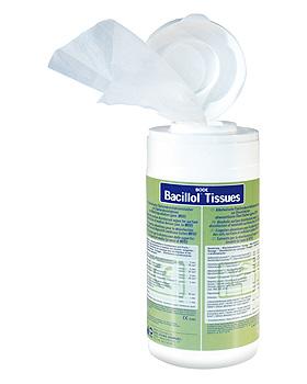 Bacillol Tissues, 100 Tücher in Spenderdose, Bode Chemie, medishop.de