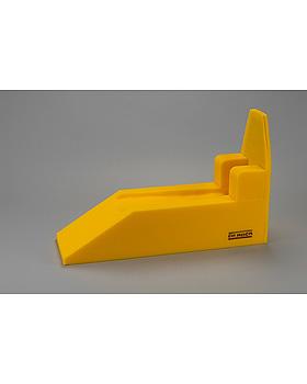 Beinhochlagerungsschiene nach Schulze Größe2, Kunststoffsohle, atmungsaktiv, 55x20cm, Dr. Paul Koch, medishop.de