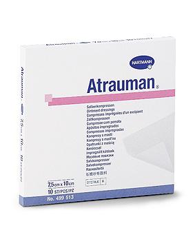Atrauman  7,5 x 10cm, steril, einzeln eingesiegelt, 10 Stück, Hartmann  AG, medishop.de