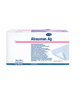 Atrauman Ag, steril, 10 x 20 cm, einzeln eingesiegelt, 10 Stück, Hartmann  AG, medishop.de