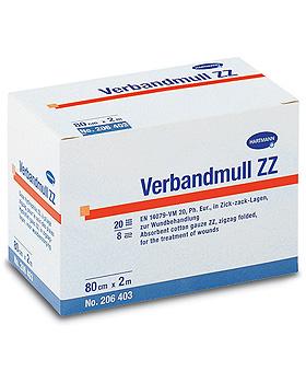 HARTMANN Verbandmull 20fädig, in Zickzack-Lagen, 8fach auf 10 cm Breite gelegt, Hartmann, medishop.de