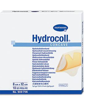Hydrocoll concave steril 8 x 12 cm, einzeln eingesiegelt, 10 Stück, Hartmann, medishop.de