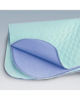 Bettschutzeinlagen MolNea textile mit 2x50 cm Untersteck-Streifen, 75 x 85 cm, 10 Stück, Hartmann, medishop.de
