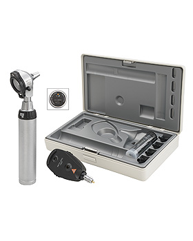 Diagnostik Set HEINE BETA 200 F.O. LED, mit USB Ladegriff, Tips, Heine Optotechnik, medishop.de