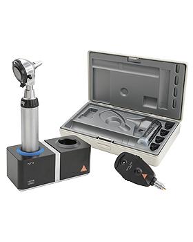 Diagnostik Set HEINE BETA 400 F.O. LED, mit Ladegriff, Ladegerät, Lasergravur, Heine Optotechnik, medishop.de