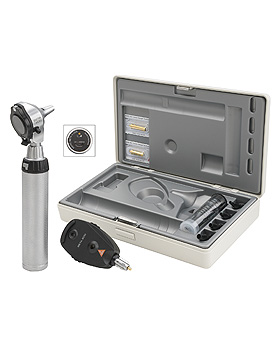 Diagnostik Set HEINE BETA 400 F.O. 3,5V, mit USB Ladegriff, Heine Optotechnik, medishop.de