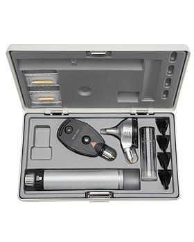 Diagnostik Set HEINE BETA 400 F.O. 2,5V, mit Batteriegriff, Lasergravur, Heine Optotechnik, medishop.de