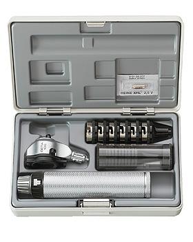 Otoskop HEINE BETA 100, 3,5V, mit USB-Ladegriff, Trichter, Etui, Heine Optotechnik, medishop.de