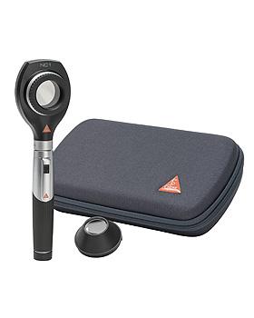 Dermatoskop HEINE NC1 LED 2,5V, mini3000 Batteriegriff, Kontaktscheibe, Reißverschlussetui, Heine Optotechnik, medishop.de