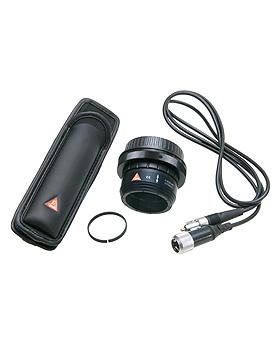 Fotozubehör Set für Canon, SLR Fotoadapter, Verbindungskabel , BETA Gürtel Clip, Abstandsring, Heine Optotechnik, medishop.de