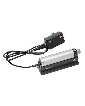 Ladegriff HEINE BETA4 USB 3,5V, mit Li-ion Ladebatterie, USB-Kabel, Steckernetzteil, Gravur, Heine Optotechnik, medishop.de