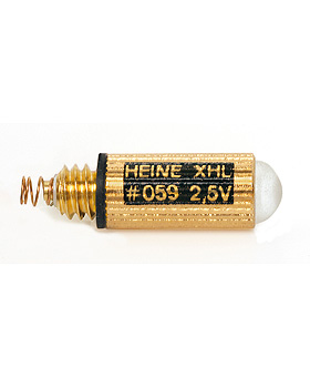 Halogen-Lampe HEINE XHL 2,5V, .059, Heine Optotechnik, medishop.de