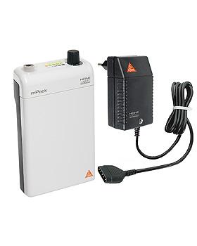 HEINE mPack mit Li-ion Ladebatterie und Steckertrafo, Heine Optotechnik, medishop.de