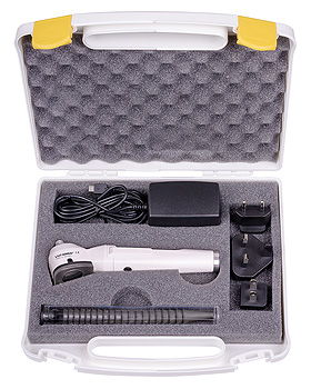 Otoskop-Koffer, allein zu LuxaScope Auris LED 3,7V, Luxamed, medishop.de
