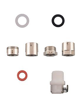 Universaladapter-Set für Wassersterilfilter zum Anschluss an Waschbeckenarmaturen, medishop, medishop.de