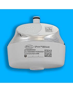 Pall QPoint Andockstation QDTC für Waschbecken, verchromt, für Sterilfilterkapsulen, medishop, medishop.de