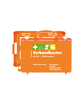 GGVSEB + Kfz-Verbandkasten SN-CD Komplettausstattung nach DIN 13164, Söhngen, medishop.de
