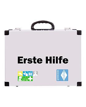 Sanitäts-Notfall-Koffer First Responder, (alu) mit Inhalt DIN 13155, Söhngen, medishop.de