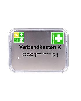 Feuerwehr-Verbandkasten K Typ 4 - Aluminium mit Füllung DIN 14880-DIN 14142, Söhngen, medishop.de