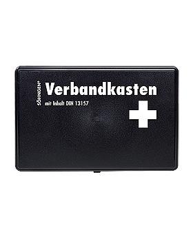 Verbandkasten KIEL Kunststoff Standard schwarz leer, Söhngen, medishop.de