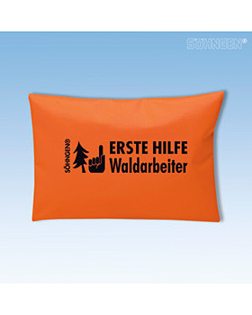 Erste-Hilfe-Set Waldarbeiter, orange, Söhngen, medishop.de