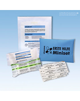 Erste-Hilfe Miniset, blau, Söhngen, medishop.de