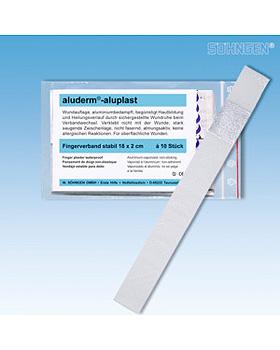 aluderm-aluplast stabil Fingerverband 18 x 2 cm, 10 Stück, Söhngen, medishop.de