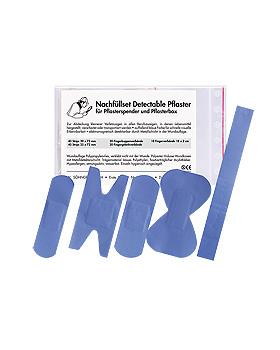 Nachfüllset Detectable für Pflasterspender, 130 Stück, Söhngen, medishop.de
