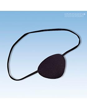 Augenklappe mit Gummiband, schwarz, Söhngen, medishop.de