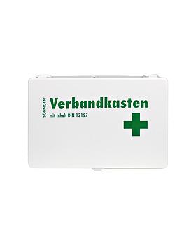 Verbandkasten KIEL - Stahlblech, weiss, Söhngen, medishop.de