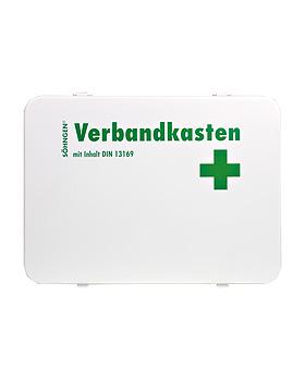 Verbandkasten OSLO, Stahlblech mit Füllung Standard nach DIN 13169, Söhngen, medishop.de