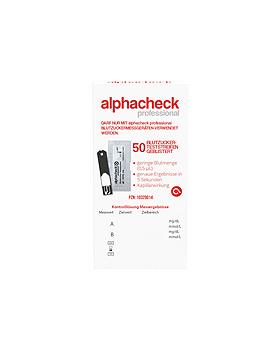 alphacheck professional Teststreifen einzeln geblistert (50 T.), Alphacheck, medishop.de