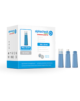 alphacheck comfort Sicherheitslanzetten 28 G x 1,6 mm (100 Stck.), Alphacheck, medishop.de