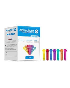 alphacheck soft Rainbow Lanzetten 30 G x 3 mm (200 Stck.), Alphacheck, medishop.de