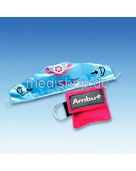 AMBU LifeKey im roten Softcase- Schlüsselanhänger mit Ambu-Logo, Ambu, medishop.de