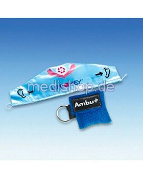 AMBU LifeKey im blauen Softcase- Schlüsselanhänger mit Ambu-Logo, Ambu, medishop.de