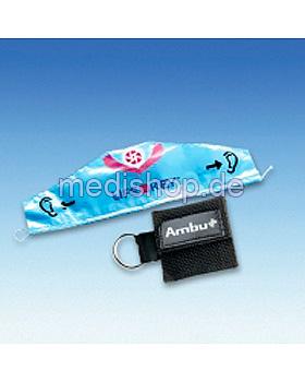 AMBU LifeKey im schwarzen Softcase- Schlüsselanhänger mit Ambu-Logo, Ambu, medishop.de
