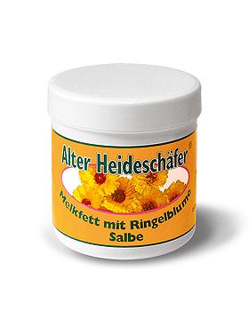Alter Heideschäfer Melkfett-Salbe mit Ringelblume 250 ml, ASAM Kosmetik, medishop.de