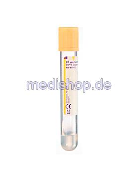 BD Vacutainer SST II Advance Serum- röhrchen aus PET, 8,5 ml, Trenngel und, 100 Stück, Becton Dickinson, medishop.de