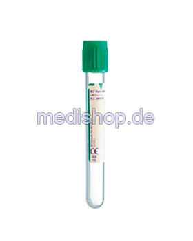 BD Vacutainer Plus Plasmaröhrchen aus PET, 6 ml, Lithium-Heparin (100 Stck.), Becton Dickinson, medishop.de