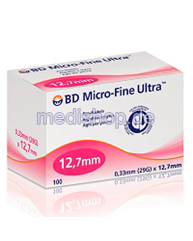 BD Micro-Fine Ultra Pen-Nadeln 29 G 0,33 x 12,7 mm (100 Stck.), Becton Dickinson, medishop.de
