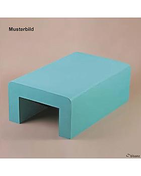 Beinlagerungstunnel für die Seitenlage, 60 x 39 x 22 cm, feuerrot phthalatfrei, Sonderanfertigung!, Bisanz, medishop.de