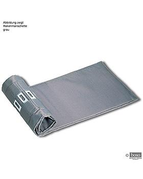 Hakenmanschette für Erwachsene (Standard) grau, Einschlauch, Boso, medishop.de