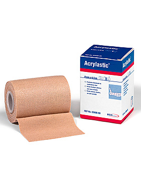Acrylastic Klebebinde, 2,5 m x 10 cm, 12 Binden, BSN medical, medishop.de