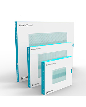 Biatain Contact Silikon-Wundkontakt- auflagen steril, 5 x 7,5 cm (10 Stck.), Coloplast, medishop.de