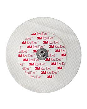 3M Red Dot EKG-Überwachungselektroden für Erw. für Intensiv Ø 6 cm (50 Stck.), 3M Medica, medishop.de