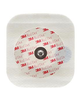 3M Red Dot EKG-Überwachungselektroden für Erwachsene 5,1 x 5,5 cm (50 Stck.), 3M Medica, medishop.de